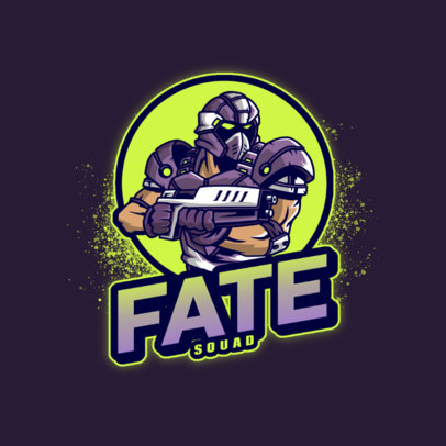 Gears-Inspired Logo Generator Featuring a Strong Shooter Clipart 4304f