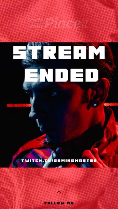 Twitch Stream-Themed Instagram Story Video Generator 310a-3280-el1