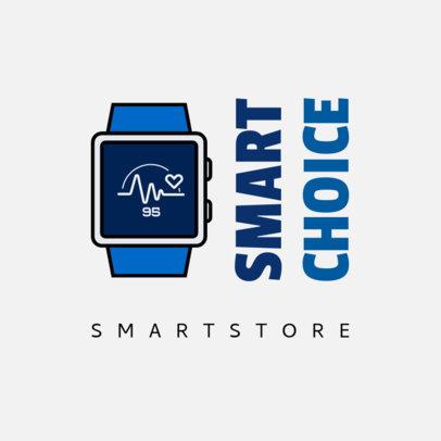 Fun Logo Template with a Smartwatch Graphic 3907c-el1