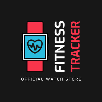Technology Logo Creator for Fitness-Related Devices 3907f-el1