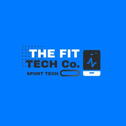 Logo Template for a Sports Tech Company 3909c-el1