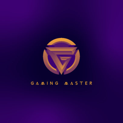 Logo Maker for Gaming Streamers Featuring Round Insignias 4324