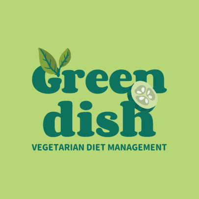 Logo Generator for a Vegetarian Dietitian 4315a