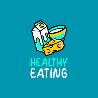 Logo Template for a Healthy Diet Coach 4318i