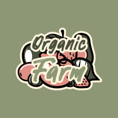 Logo Generator for Healthy Organic Products 4317c