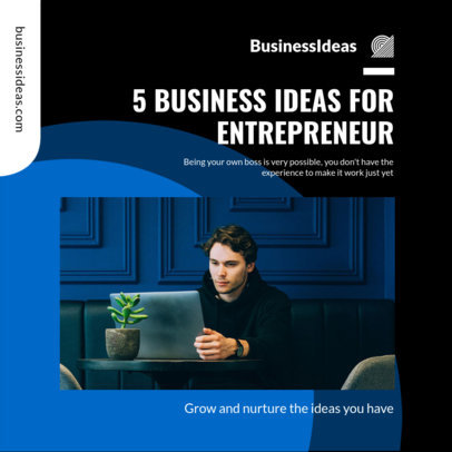 Instagram Post Generator to Share Business Ideas 3930d-el1
