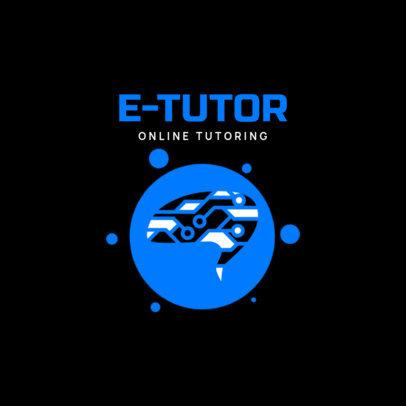 Education Logo Maker for an Online Tutoring Service 3934f-el1