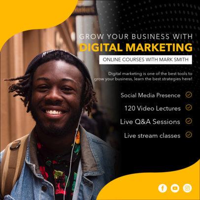 Instagram Post Maker for an Online Business Intensive Course 3924-el1
