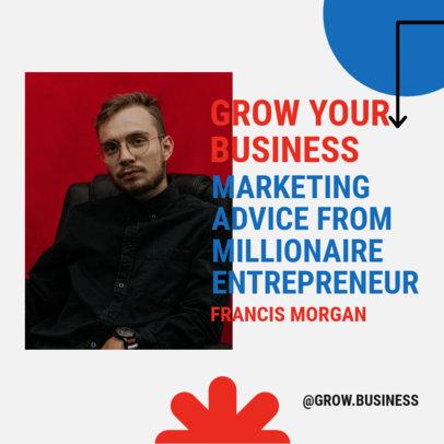 Instagram Post Maker to Announce a Marketing Webinar for Entrepreneurs 3926b-el1