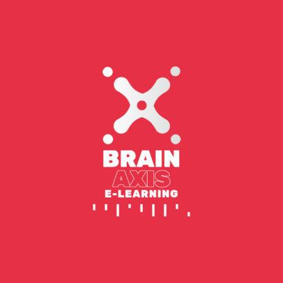 Abstract Logo Maker for an e-Learning Platform 3942d-el1