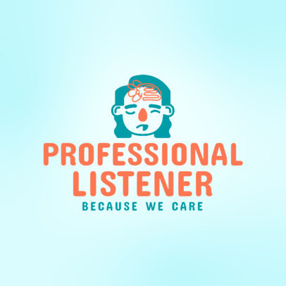 Psychology Podcast Cover Creator with a Mental Health Theme 4334f