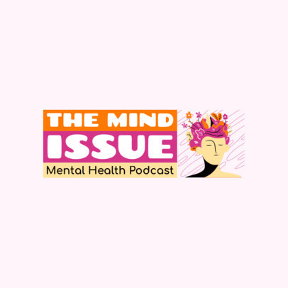 Logo Template for a Mental Health Podcast 4330a