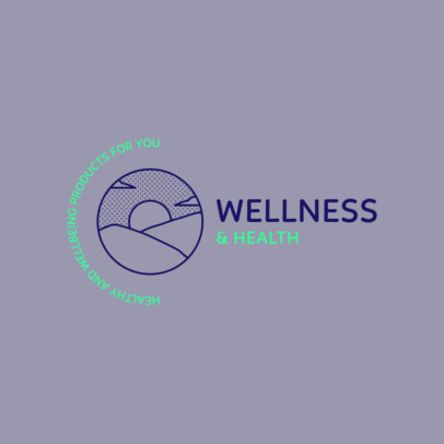 Simple Dropshipping Logo Maker for Health and Wellness Products 4355
