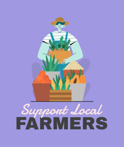 Tote Bag Design Maker to Support Local Producers 3693