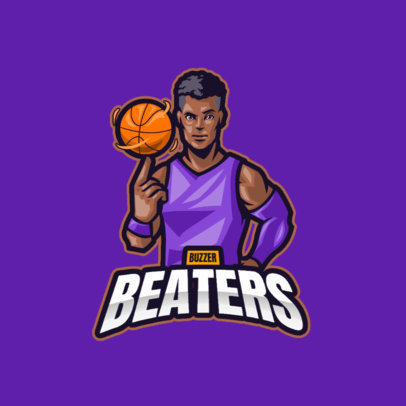 Sports-Themed Logo Maker Featuring Illustrated Characters 3975-el1