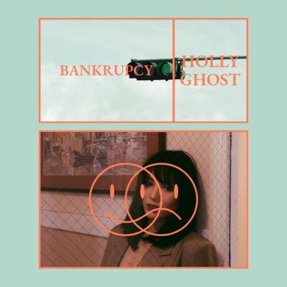 Album Cover Creator for an R&B Female Artist 3084a-el1