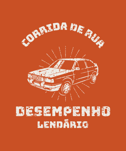 T-Shirt Design Generator for an Antique Car Club with a Vintage Graphic 3680g