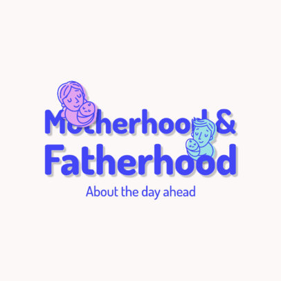 Logo Maker for a Podcast with a Parenting and Family Theme 4361g