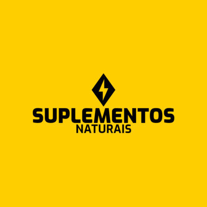 Logo Generator for a Natural Supplements Brand 4353c