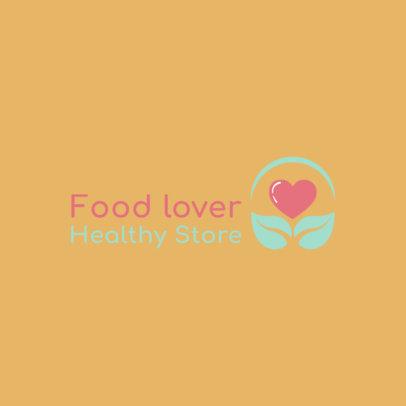 Online Logo Maker for a Health Food Shop 4356c
