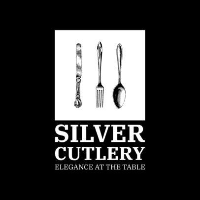 Vintage Logo Maker for a Kitchenware Brand 3980-el1