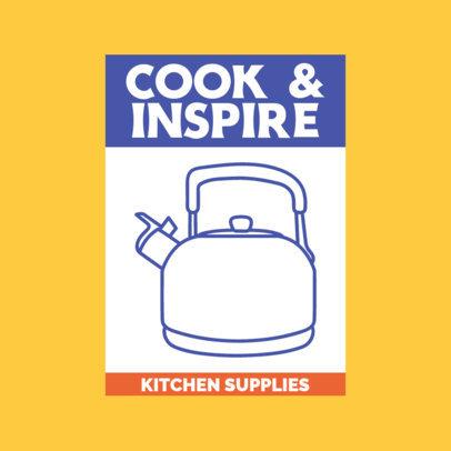Logo Template for a Kitchen Supplies Seller 3988E-el1