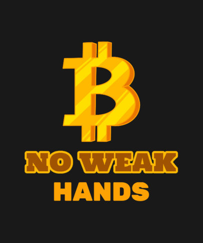 T-Shirt Design Maker With a Cryptocurrency Theme 3737