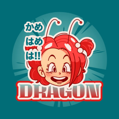 Fun Logo Creator Inspired by Akira Toriyama's Characters 4376m
