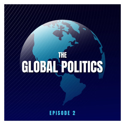 Global News Podcast Cover Generator 4398