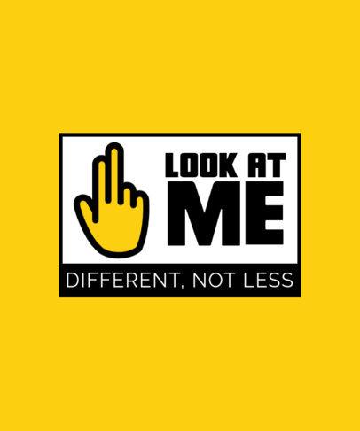 T-Shirt Design Creator Including American Sign Language Speakers 4015b