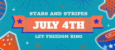 Facebook Cover Generator With a 4th of July Celebration Theme 3754a