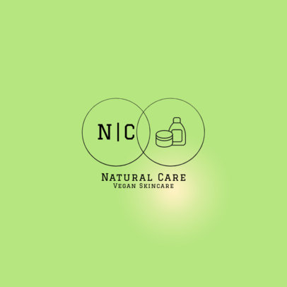 Online Logo Maker for a Beauty Brand Featuring Intertwined Circles 4063a-el1