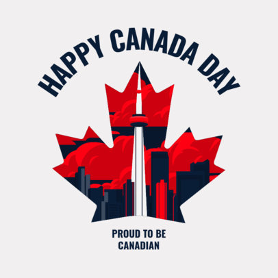 Instagram Post Generator to Celebrate Canada Day 3776b