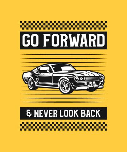 Vintage Cars-Themed T-Shirt Design Generator 4102e-el1
