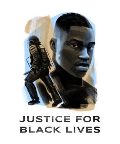T-Shirt Design Generator for a Black Lives Justice Movement 4442e