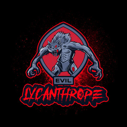 Logo Maker for Gaming Streamers Featuring Resident Evil-Inspired Graphics 4460