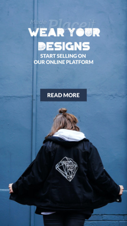 Instagram Story Video Maker for a Modern Customizable Streetwear Brand Ad 1573b 3630-el1