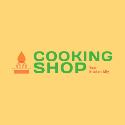 Logo Template for Dropshipping Cooking Supplies Stores 4471g