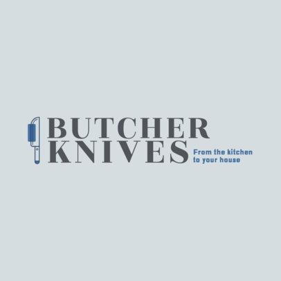 Logo Maker for a Luxury Knives Store 4471j
