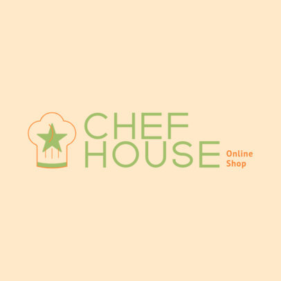 Logo Creator for a Chef Supplies Online Store 4471k