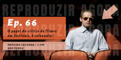 Cinema-Themed Twitter Post Creator for a Brazilian Podcast 4122f-el1