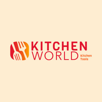Dropshipping Logo Maker for a Kitchen Products Business 4470