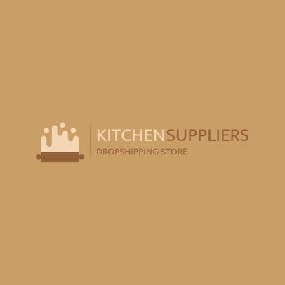 Kitchenware Store Logo Generator Featuring Abstract Graphics 4472k