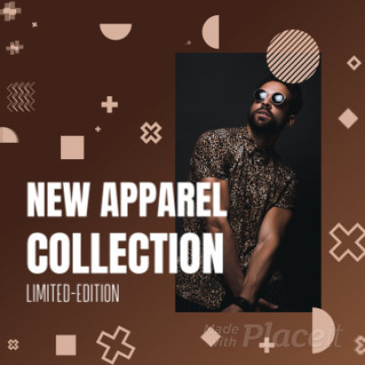 Instagram Post Video Generator for a Clothing Brand's Ad  2171a 3638