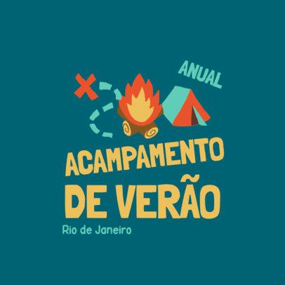 Logo Creator or a Summer Camp in Rio de Janeiro 4486f