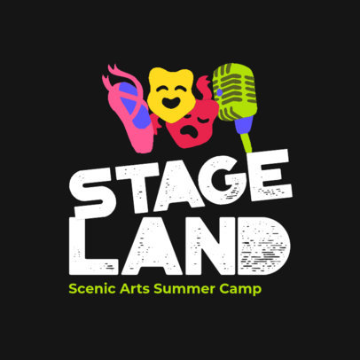 Logo Generator for a Scenic Arts Summer Camp 4486d