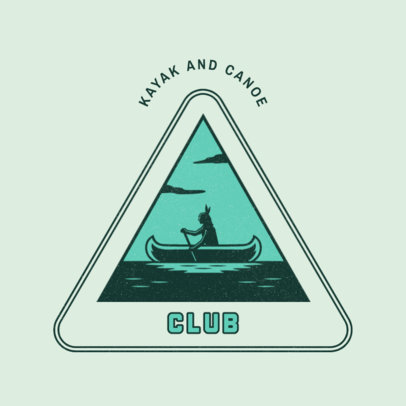 Online Logo Template for a Paddling Club 4482e