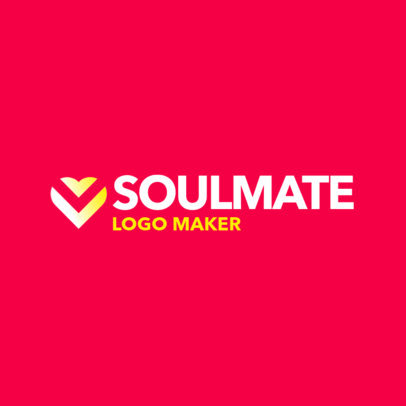 Abstract Logo Generator for a Dating App 4479f