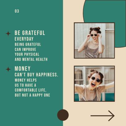 Carousel Instagram Post Design Maker Featuring a Wellness Topic 4158f-el1