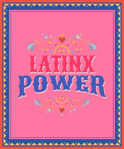 Quote T-Shirt Design Generator to Celebrate Hispanic Heritage Month 3859
